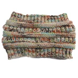 Knitted Crochet headband autumn winter new women Sports Head wrap Hairband Fascinator Hat Head Dress Headpieces DHC2950