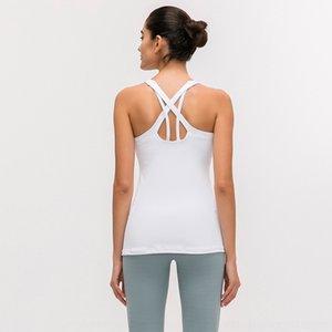 DLZvw Merillat merilet Outono nova respirável exercício de corrida jacketToptopvest fitness com bra Sports tapete de yoga top aptidão para as mulheres 64TtN