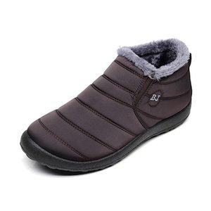 BEYARNE Winter Boots for Women Waterproof Snow Boots for Women Casual Winter Shoes Ankle Boots for Women SizeE1002 201022