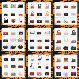 500 Style designer handbags Luxury PU crossbody bag Solid Color Composite shoulder Bag High Quality ladies fashion bags wallet