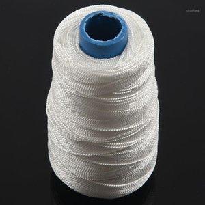 새로운 400m 80lbs 나일론 트위스트 Bowstring 스레드 낚시 문자열 재봉 코드 연 선, White1