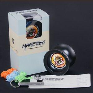 T9 Magic YOYO Professional Advanced Alloy Йойо Ответственный игрушка с подшипниковым Tool + 3шта YOYO Строка + Bearin Для начинающего Learner 1020