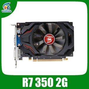 Grafikkarte Veineda R7 350 2GB GDDR5 128Bit Unabhängiges Spiel Video Card R7-350 für ATI Radeon-Gaming