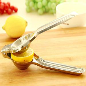 스테인레스 스틸 레몬 압착기 레몬 수동 Juicer 튼튼한 라임 스퀴더 반 방향 부식성 수동 라임 신선한 주스 도구 WQ671