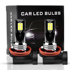 Autoscheinwerfer ALENT 2 STÜCKE H8 H11 LED H9 4 9006 3 9005 Nebelscheinwerfer Lampen fahren Lauflampe Luces Para Auto H7 12V 24V1