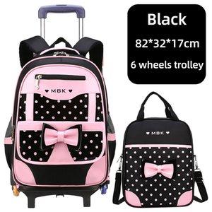 High School de Qualidade Bapa Trolley Bapa com rodas sacos de escola impermeável para Adolescentes bagagem Bag Crianças Kid Bolsas