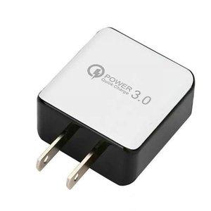 CGJXS QC 3 .0 Chargeur mural rapide USB Charge rapide 5V 3A 9V 2A Adaptateur d'alimentation de voyage FAST Chargement rapide US EU Bouchon pour Samsung Xiaomi Téléphone