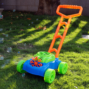 Children bubble water tank mower car outside bubble hand bulldozer early childhood learning supplies