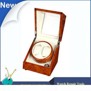Wholesale- Ultra Painting Yellow 2+0 Watch Winder,German Silent motor 5 Modes automatic Watch Winder