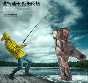 Bicycle outdoor sports gloves warm winter riding gloves full-finger non-slip fishing gloves can show three fingers