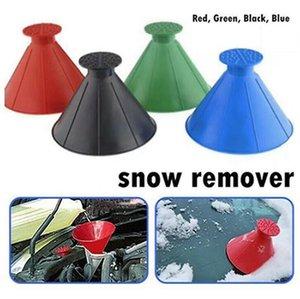 Removedor de neve funil janela pára-brisa carro raspador de gelo snow snow cone em forma de funnels housekeeping ferramenta de limpeza IIA857