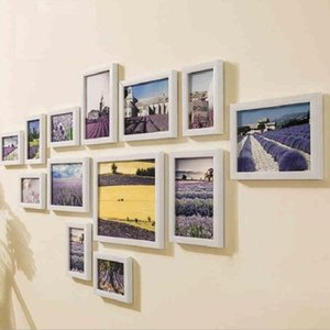 13Pcs set Wall Hanging Photo Combination Frame Set Bedroom Living Room Wall Decoration Art Home Decor Display Picture Family