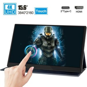 15.6 4K USB 3.1 Type-C touch screen portable monitor 3840x2160 HDR IPS screen Display for Ps4 Switch Xbox Huawei