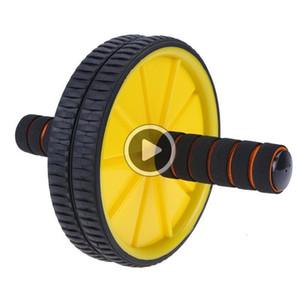 MW02 Дважды колесные Обновлено Ab брюшного пресса Колесные Ролики CrossFit Упражнение Оборудование для Бодибилдинг Фитнес для дома Gym Y1892612