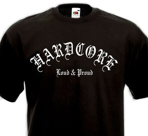 Hardcore Tişört Loud Proud-HXC Madball Agnostik Ön Biohazard Geri tepme spor Kapşonlu Kazak Hoodie