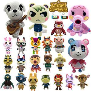Animal Crossing Peluş Oyuncak çocuklar için Ketçap ABD Polisi Amiibo Kart Plushie Oyuncak Slider Isabelle Dolması Doll Hediyeler Anahtarları
