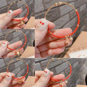 style coréen rouge braceletChinese Zodiacs année de naissance production réglable bracelet style coréen rouge braceletChinese Zodiacs année de naissance adjus