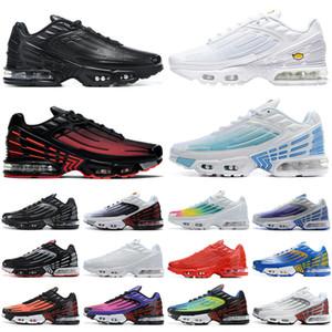 vapormax vapor max 2020 tn plus 3 men women running shoes triple white Black Iridescent Crimson Red Laser Blue Deep Royal mens trainers sports sneakers runners