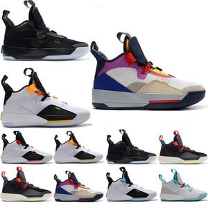 Designer Mens Trainers Jumpman XXXIII 33 Future Origins Tech Pac Basketball Shoes 33s for Top quality Men Jogging Sneaker Size US 7-13