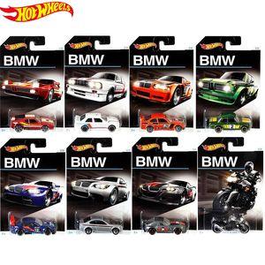 Ruedas originales Diecast 1/64 Modelo Coche Hotwheels Carro BMW Collector Edition Voiture Hot Toys para niños Regalo