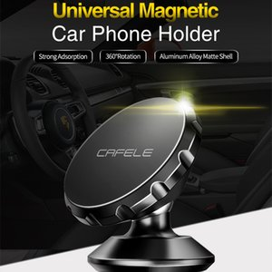 CAFELE Universal Magnetic 360 Rotation GPS Mobile Phone Car Holder Stand For iphone X Huawei P20 Pro Samsung S9