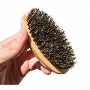 الخشب البيضاوي فرشاة الوجه لا مقبض phylstachys خنزير شعيرات الخشب اللحية أدوات الاستمالة هدية فرش الشعر الساخن بيع 4 8ZC G2