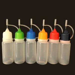 زجاجات 5ML 10ML 20ML 30ML 50ML زجاجة فارغة غرور زجاجة فارغة للغرور E السائل بلاستيك البدلة زجاجة لغرور سلسلة CIGARETT الالكترونية