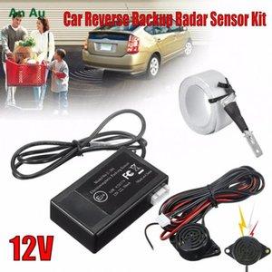 12 Электромагнитный автомобилей для грузовых автомобилей Реверсивный резервного Radar Комплект датчика резервного реверса система парковки Нет необходимости сверлить