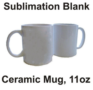 Sublimation Blanks Tasse Weiß Keramik Sublimation Kaffeetassen Heat Transfer Printing Classic Tea Cup DIY Designer Flasche Wasser CCB2265