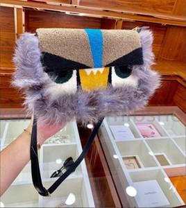 Best Best Luxurys Designers F Womens Ombro Sacos Crossbody Bag Bolsas Monstro Fox Fur Bag Alta Qualidade Saco D 2021 Moda Embreagem Sacos