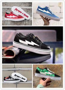 2021 Revanche X tempête Kanye Old Skool Designer Cavnas Chaussures Casual Sneakers Teal Black Flame Boogie Slip-On Poids léger Skateboard chaussures