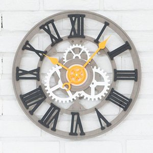 """Luxury Europe Wall Clock Modern Design for Living Room Fashion Watches Home Decor Hanging Wall Sticker Silent Merchanism 16"""""""