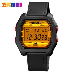 Luxury Sport Digital Watches Men Fashion Shockproof Wristwatch 50M Waterproof Luminous Electronic Watch Women Brand SKMEI Clock
