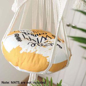 Arazzo di arazzi handwoven Appeso Macrame Macrame Pet Cat Hammock Bed Swing Sedia soft 50JD