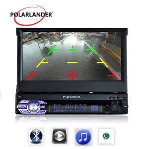 7 inch Mirror Link 12 languages Car Radio 1 DIN In Dash Stereo FM Aux USB TF bluetooth touch screen MP5 MP4 player