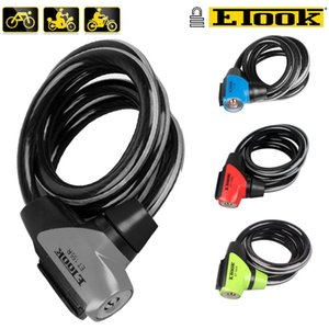 Bicycle Lock Anti-theft Cable Lock Anti-theft Folding Security Bike Chain Lock Cadeado Bicicleta Ciclismo with reflective stripe