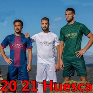 20 21 SD Huesca Soccer Jerseys Bar # 10 Cristo Okazaki Sergio Gómez Raba Ad Kids 2021 2020 Camiseta de Fútbol Insua Shirts