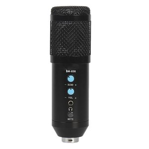 BM858 Condenser Microphone Studio Recording BM 858 USB Computer Microphone for YouTube