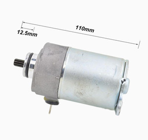Electrical System Motorcycle Engine Electric Starter Motor 10 Teeth For Gy680 Dayang Popo50 139Qmba Scooter Moped Go Carts Dirk Bike A Vcm6V