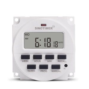 1 .6 Inch Digital S Programmable Timer Switch With Ul Listed 220v 230v Ac 7 Day Relay Inside And Countdown Time Function