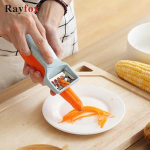 Gadgets 4 in 1 Fruit Vegetable Carrot Potato Garlic Press Peeler Cutter Slicer Peeler Healthy Kitchen Accessories