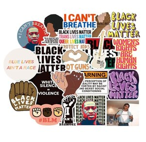 50pcs Black Lives Matter Stickers Waterproof For Phone Case Laptop Suitcase Skateboard Scrapbook Funny Cool Motorcycle Stickers sqcJbN