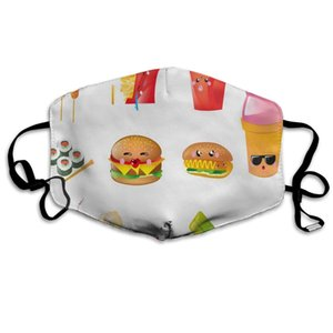 Dustproof Food Cartoons Mouth Cover Mask Warm Windproof Mask