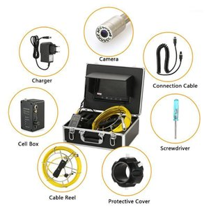 Qinchaoqin Fish Finder 20M   30M Drain Pipe Sewer Inspection Camera IP68 Industrial Snake 9
