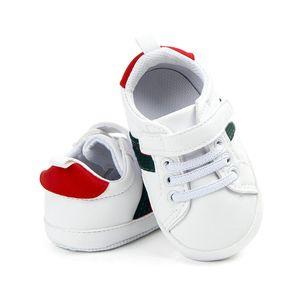 아기 신발 아기 소년 소녀 침대 신발 신생아 첫 번째 워커 패션 신발 레이스 업 스니커즈 0-18 개월