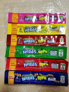 andy Nerdsrope Gummy Empty Mylar Bags In Stock Newest Mix 6 Types Medicated Nerds Rope 400Mg