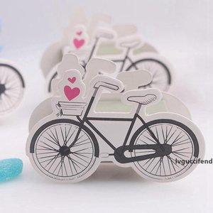 Vélo Boîtes bonbons Manuel Coffrets cadeaux Paper Box Party Favors pour les enfants de mariage anniversaire
