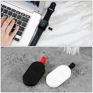 Qi Chargeur sans fil pour Apple montre rapide magnétique USB mini portable station de chargement iWatch 1 2 3 4