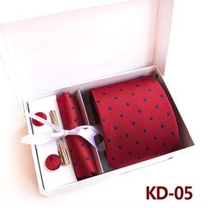 TKUM 2020 Kutu Kravat Çiçek erkek Boyun Seti Mendil Kravat Kadınlar Rahat Iş Kravat Cep Kare Havlu Özel Logo