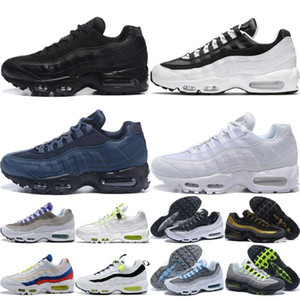 max 95 airmax Utility Homens Mulheres Running Shoes Dark Blue Mens Triplo Preto Branco Worldwide Grape mens Trainers Zapatos Outdoor Sports sapatilha 36-46